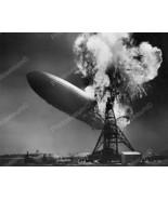 Zeppelin The Hindenburg On Fire Vintage 8x10 Re... - $20.20