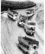 Wild European Bus Race Vintage 8x10 Reprint Of ... - $20.20