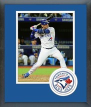 Josh Donaldson 2016 Toronto Blue Jays - 11 x 14 Team Logo Matted/Framed Photo - $42.95