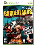 XBox 360 - Boarderlands - $7.90