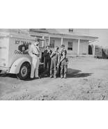 Good Humor Ice Cream Man & Happy Boys! 4x6 Reprint Of Old Photo - $11.65