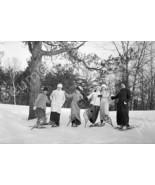 Ladies In Snowshoes High Park Toronto 4x6 Repri... - $11.65