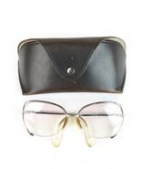 VTG Viennaline Austria Women's Oversized Hipster Metal 54 Glasses Frames - $59.39