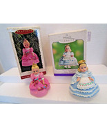 Madame Alexander Doll Hallmark Keepsake Ornament LOT Cinderella Alice Wo... - $13.99