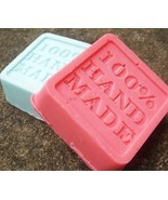 handmade soaps, set of 2, bath, beauty, soap, handmade soap, sample soap... - $4.75