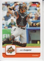 Javy Lopez 2006 Fleer Card #236 - $0.99
