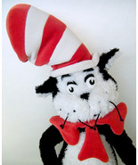 """Dr Seuss CAT IN THE HAT Large 27"""" Plush Manhattan Toy EUC! Displayed Only - $25.00"""