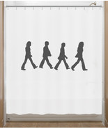 Beatles Shower Curtain Abbey Road - $64.95