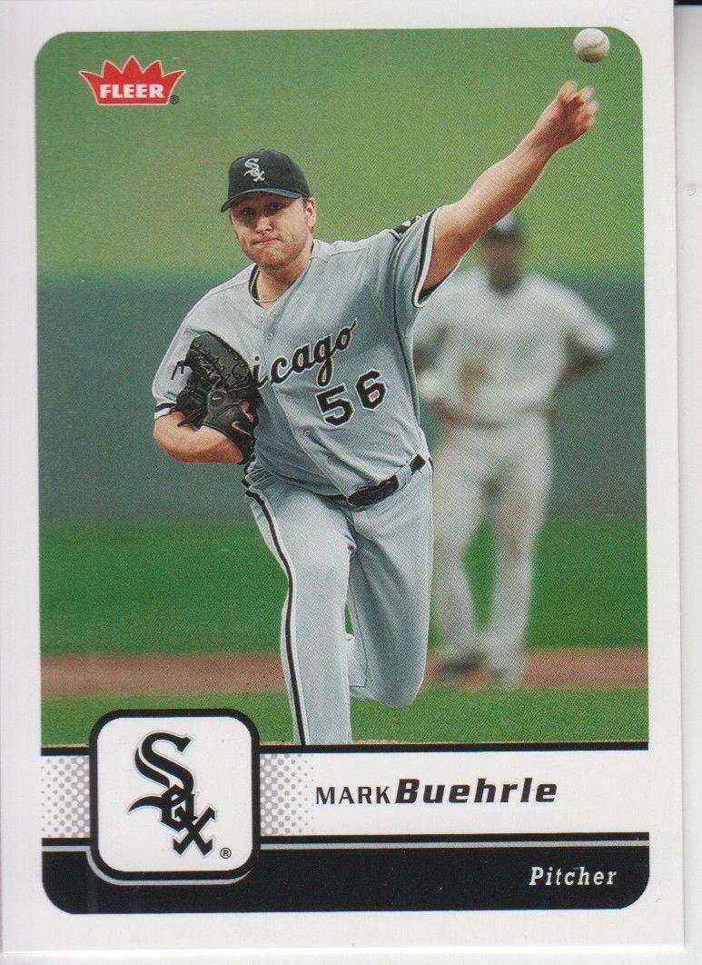 Mark Buehrle 2006 Fleer Card #382