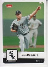 Mark Buehrle 2006 Fleer Card #382 - $0.99
