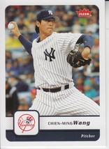 Chien-Ming Wang 2006 Fleer Card #389 - $0.99