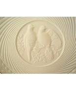 Rare 1986 Vintage Avon White Doves Decorative Porcelain Collector's Plate- - $18.00