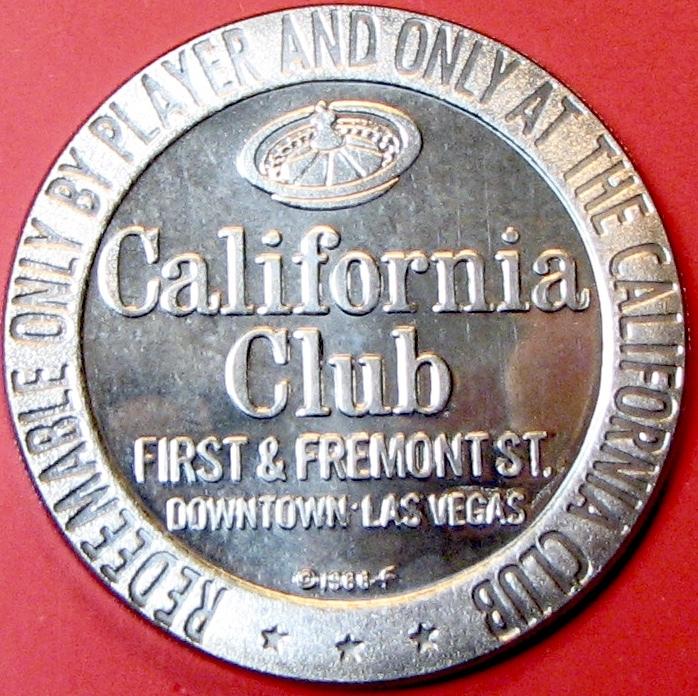 $1 Casino Token  California Club, Las Vegas, and 50 similar items