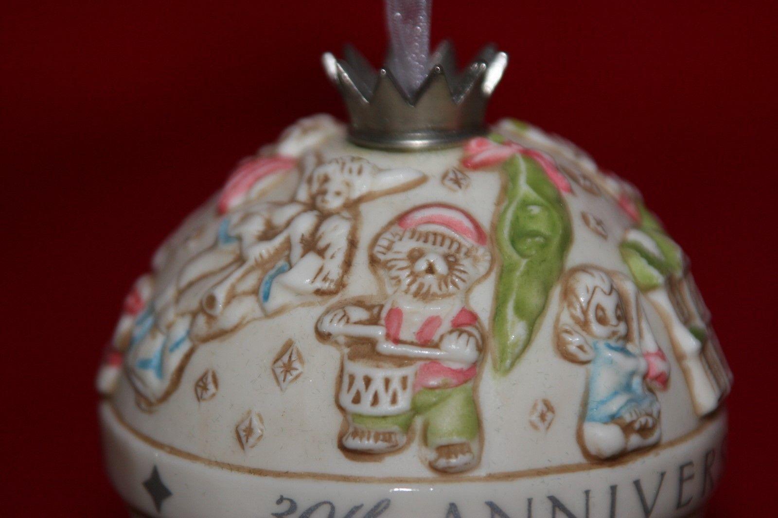 Hallmark Keepsake Club Exclusive 30th Anniversary Commemorative Bells NEW  image 8