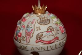 Hallmark Keepsake Club Exclusive 30th Anniversary Commemorative Bells NEW  image 12