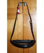 Bobby's Tack Full Size Black Crank (Non-Flash) NOSEBAND - Traditional Strap - $94.00