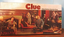 Vintage 1972 Clue Detective Board Game Parker Brothers Not Complete - $23.38