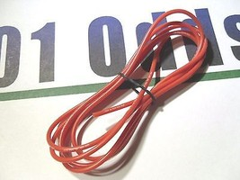 22AWG Super Flexible Red High Temp Silicone Wire RC Plane FPV Quadcopter... - $4.52
