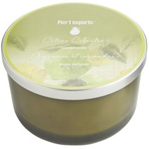 Pier 1 Imports Filled 3-Wick Candle Candle (Citrus Cilantro)  - $35.63