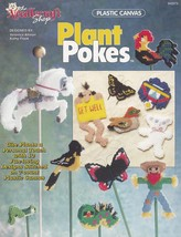 Plant Pokes, The Needlecraft Shop Plastic Canvas Pattern Booklet 943373 OOP - $3.95