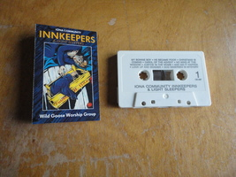 CASSETTE Wild Goose Worship Group 'Innkeepers and Light Sleepers' Christ... - $3.19