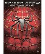 Spider Man 3 Bonus DVD - $0.00