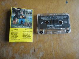 CASSETTE Beau Thomas and Cajun Power s/t 1993 tape Louisiana cajun music - $4.79