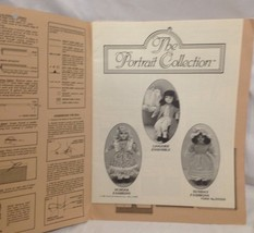 Fibre-Craft The Portrait Collection Uncut Patterns for Small or Large Doll - $8.77