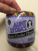 Aunt Lydia's Crochet Thread Mexicana Color Clas... - $3.47