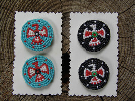 HANDCRAFTED WEARABLE ORNAMENTED & BEADED BUTTON COVERS ( Magpie Fairy Ga... - $17.75