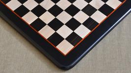 "Wooden Chess Board Genuine Ebony Wood w/o Set 18""- 45 mm - D0114 (FREE SHIPPING) - $227.99"