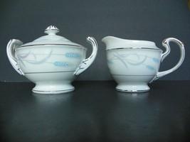 "Valmont China ""ROYAL WHEAT"" Dinnerware ~ Creamer and Sugar Bowl - $10.09"