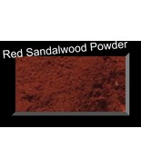100 % Pure & Natural Red Sandalwood Powder For Face Pack, Acne Scar Trea... - $5.95+