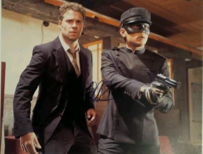 Seth Rogan 8x10 Hand Signed Photo COA The Green Hornet