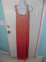 APT.9 PINK/ORANGE STRIPED MAXI DRESS SIZE XS WOMEN'S NWOT - $25.11