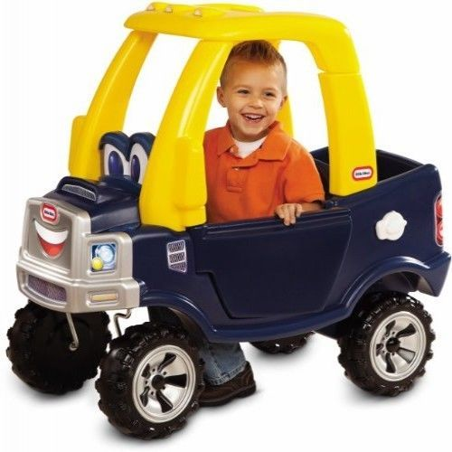 Kids Cozy Truck Ride Little Tikes Toy Toddler Car Play Outdoor Push Coupe Pickup