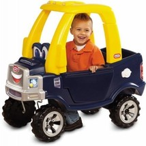 Kids Cozy Truck Ride Little Tikes Toy Toddler Car Play Outdoor Push Coup... - $99.95