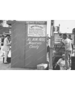 Harlem New York City News Stand Vintage 8x12 Reprint Of Old Photo - $23.30