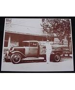Coca Cola Bottling Delivery Truck Vintage Sepia... - $20.20