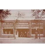 Ford & Fordson Dealer E.S. Longenecker Vintage Sepia Card Stock Photo 1930s - $20.20
