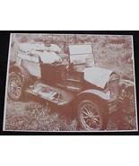 Vintage Automobile Fixer Upper Vintage Sepia Card Stock Photo 1930s - $20.20
