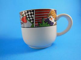 VITROMASTER Metropolitan Cup Stoneware Art Deco Mug - $5.19