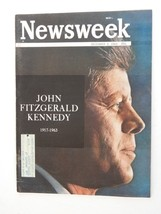 Newsweek Magazine ~ December 2, 1963 ~ J.F.K - $19.79