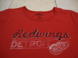 NHL Detroit Red Wings National Hockey League Fan Banner 47 New T Shirt Women's M - $25.25