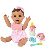 Luvabella Brunette Hair Interactive Baby Doll with Expressions & Movemen... - $100.18