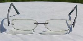 Silhouette Rimless Titan Edge Glasses Eyeglasses Frame Blue 17 40 Model ... - $28.21