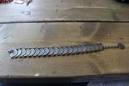 Vintage Mid Century Silver Republica Di San Marino Coin Bracelet - $34.64
