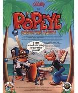 Popeye Pinball Machine Original Flyers Mint Con... - $116.58