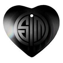 Heart Ornaments - Team Solomid League Of Legends Procelain Ornaments Chr... - $4.49