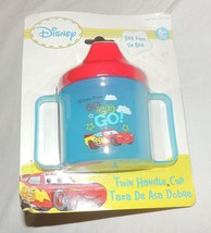 New Disney Cars Twin Handle Sippy Cup Lightning... - $3.95